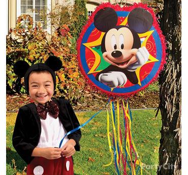 Mickey Mouse Pinata Game Idea