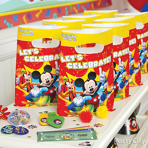 Mickey Mouse Favor Pack for 8 Idea