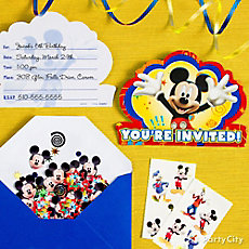 Mickey Mouse Invite Idea