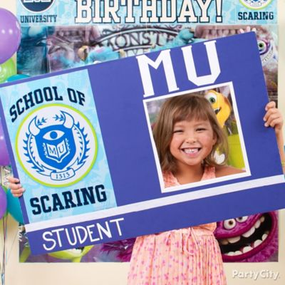 Monsters University Student ID Frame DIY