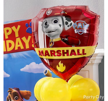 PAW Patrol Character Balloon Idea