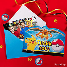 Pokemon Thank You Note Idea