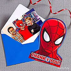 Spider Man Thank You Note Idea