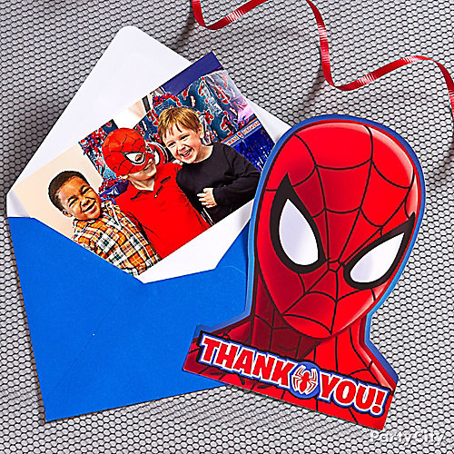Spider-Man Thank You Note Idea