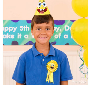 SpongeBob Birthday Outfit Idea