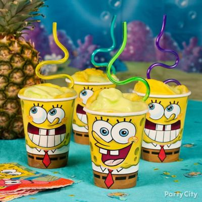 SpongeBob Smoothie Idea