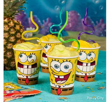 SpongeBob Smoothie Idea