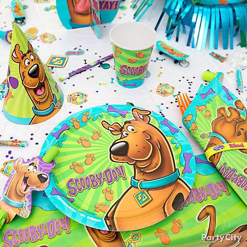 Scooby-Doo Place Setting Idea