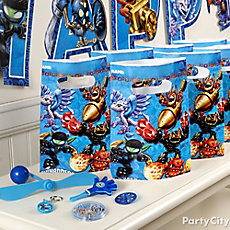 Skylanders Favor Pack for 8 Idea