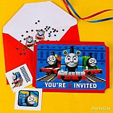 Thomas Invite with Surprise Idea