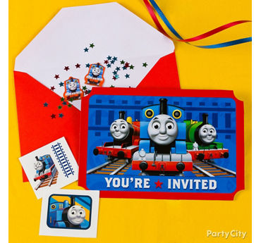 Thomas Invite with Surprise Idea