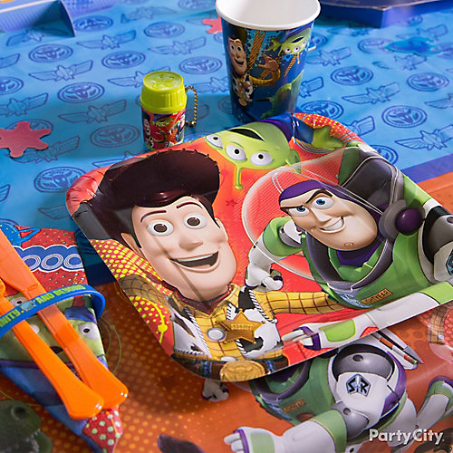 Toy Story Place Setting Idea Table Decorating Ideas