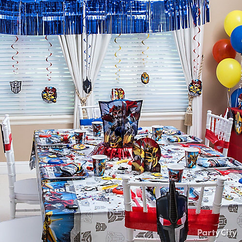 Party Table Ideas Transformers Party Table Idea   Decorating Ideas    Transformers