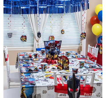 Transformers Party Table idea