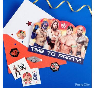 WWE Invite with Surprise Idea