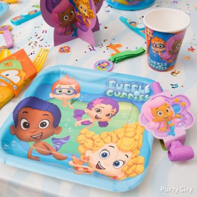 Bubble Guppies Place Setting Idea