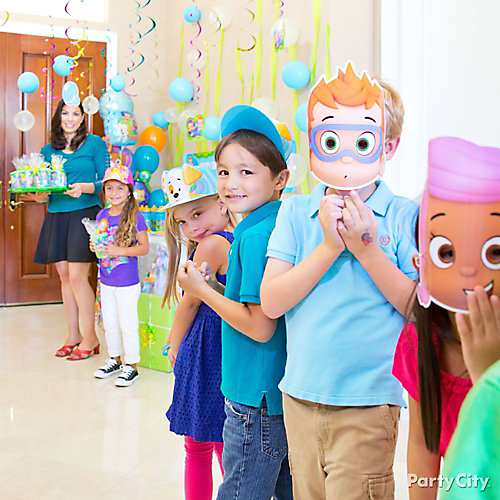 Bubble Guppies Party Hats Idea