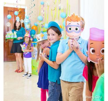 Bubble Guppies Party Hats Idea