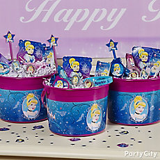 Cinderella Favor Bucket Idea
