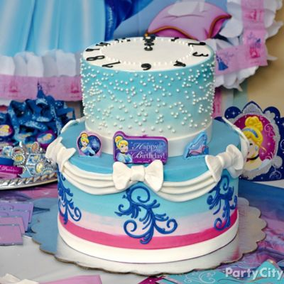 Cinderella Fondant Cake How To