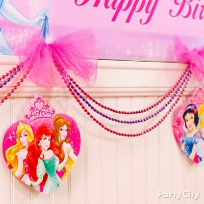 Disney Princess Garland DIY