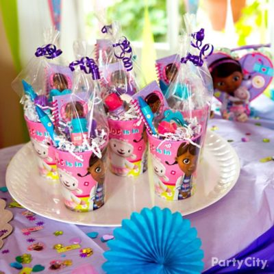 Doc McStuffins Favor Cup Idea