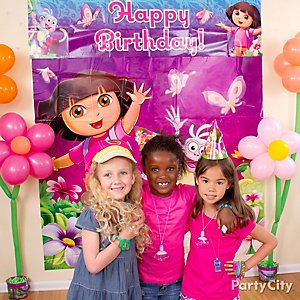 Dora Photo Booth Idea