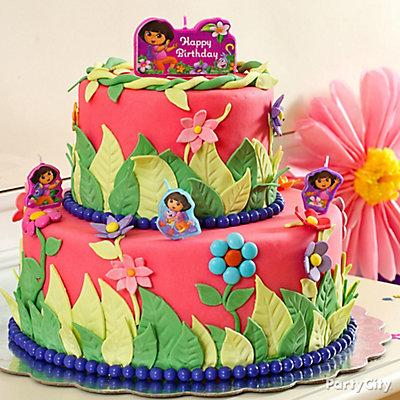 Dora Fondant Cake How To