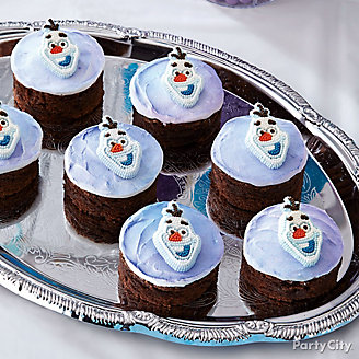 Frozen Olaf Brownies How To