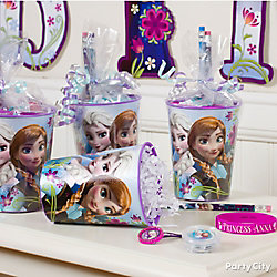 Frozen Favor Cup Idea