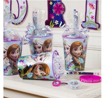 Frozen Favor Cup Idea