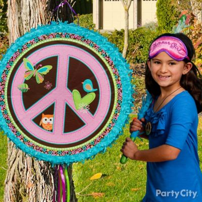Hippie Chick Pinata Game Idea
