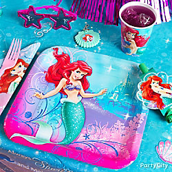 Little Mermaid Place Setting Idea