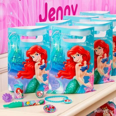 Little Mermaid Favor Pack for 8 Idea