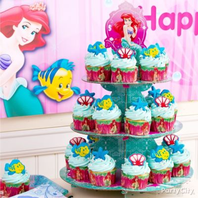 Little Mermaid Cupcakes Idea