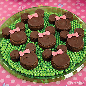 Minnie Mouse Brownies How To