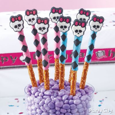 Monster High Argyle Pretzel Pops How To