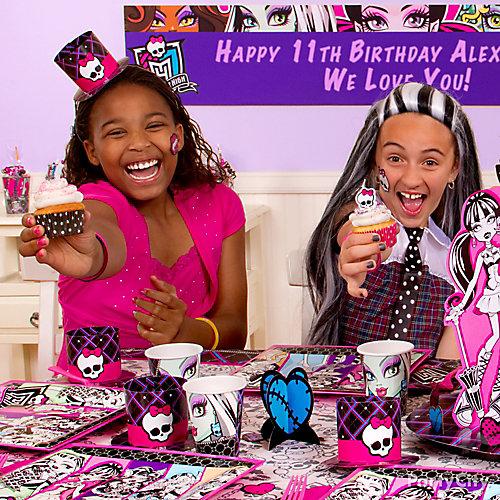 Monster High Cupcake Idea