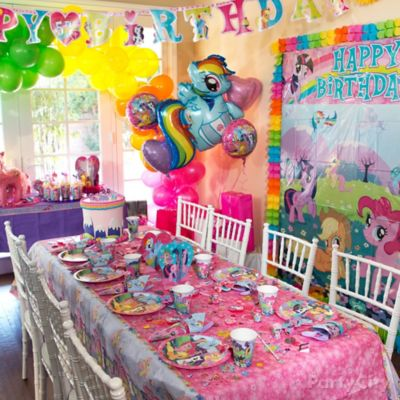 My Little Pony Party Table Idea