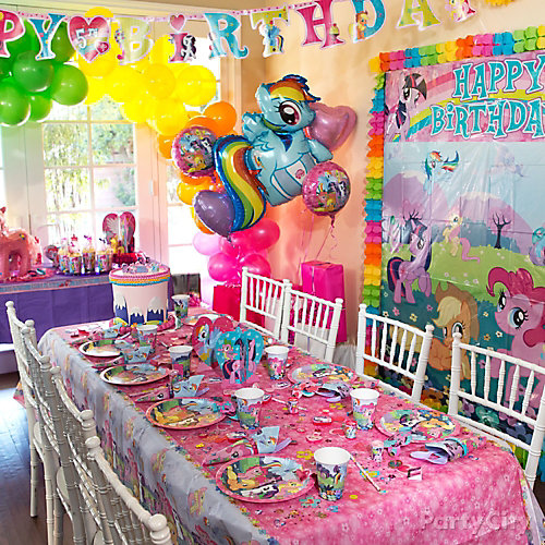 Decorating Ideas > My Little Pony Party Table Idea  Party City ~ 180449_Birthday Party Ideas Quezon City