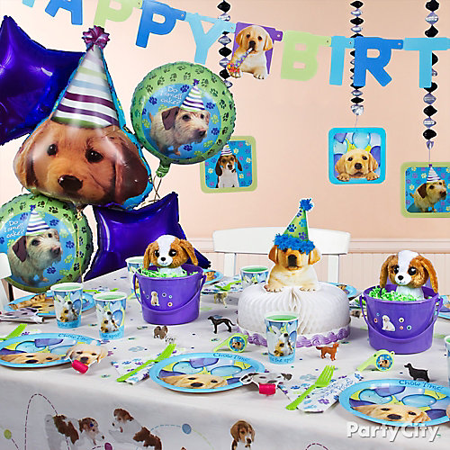 Party Pups Party Table Idea