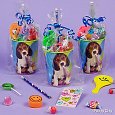 Party Pups Favor Cup Idea
