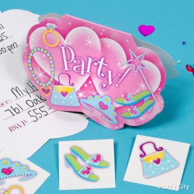 Princess Invite with Surprise Idea