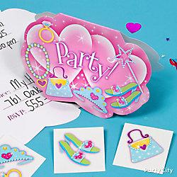 Princess Invite with Surprise Idea
