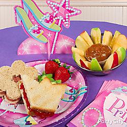 Princess Crown Sandwich Idea