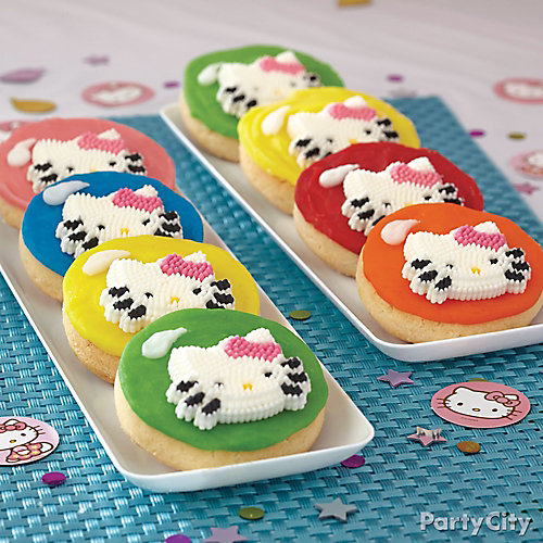 Hello Kitty Cookies How To