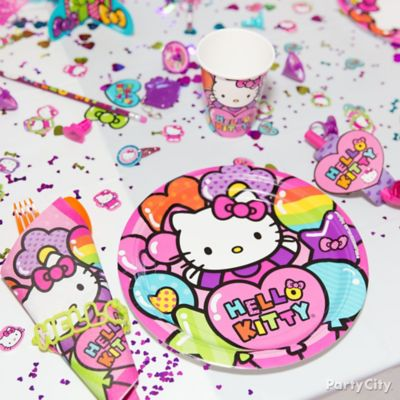 Hello Kitty Place Setting Idea