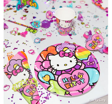 Hello Kitty Place Setting Idea