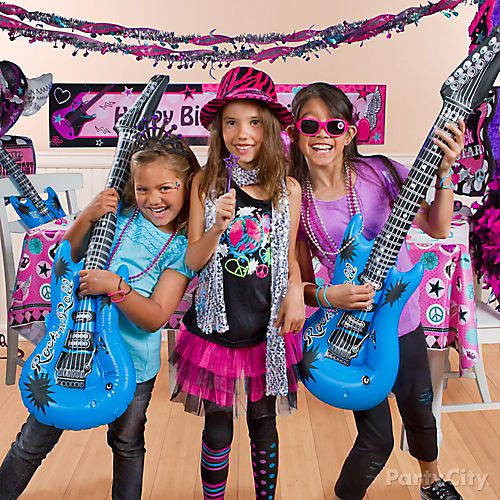 Rocker Girl Party Ideas
