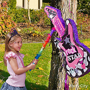 Rocker Girl Pinata Game Idea